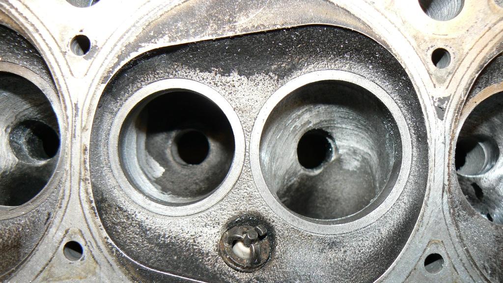 IR Gallery VW x-flow ABA porting cylinder head, SRI manifold